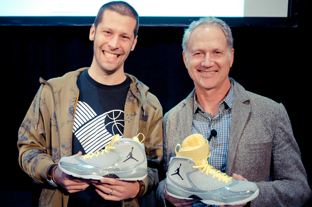 Air Jordan 2012: Tom Luedecke and Tinker Hatfield