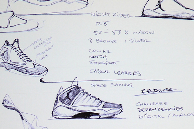 Air Jordan 2012 Sketches