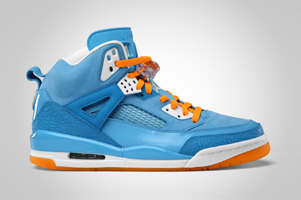 air jordan spizike university blue white