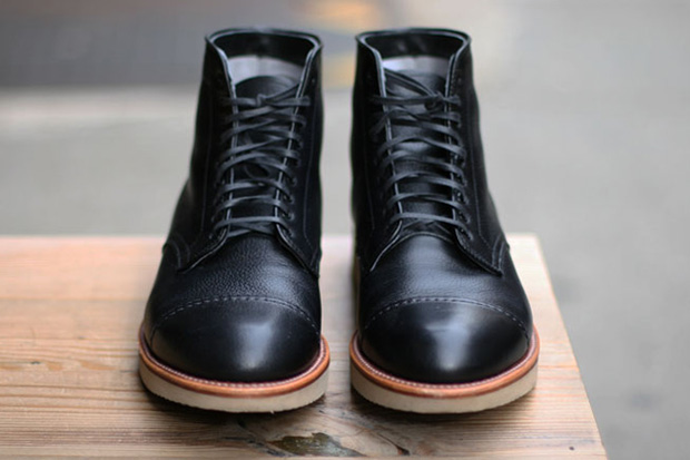 Self Edge x Leather Soul x Alden Boots