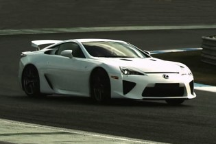 Alex Wurz Behind the Wheel of the Lexus LFA Video