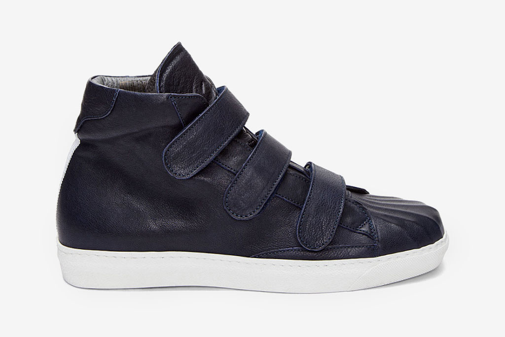 Alexander McQueen 2012 Spring Dark Blue Gomm Sneakers