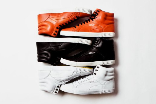 PUMA by Alexander McQueen 2012 Spring/Summer Street Climb Mid Leather