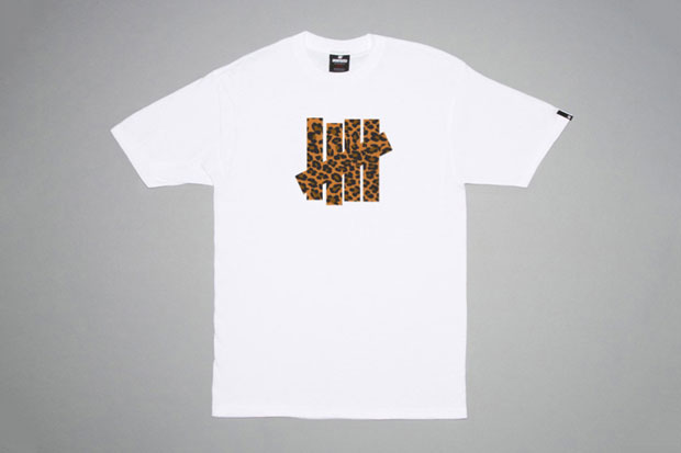 all gone x la mjc x undftd leopard 5 strike t shirt