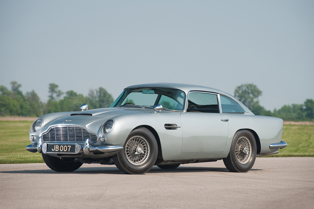 Aston Martin DB5 Back for James Bond's Skyfall