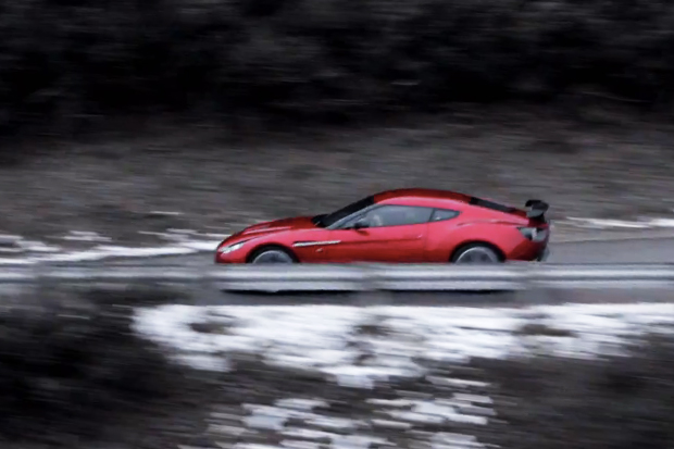 Aston Martin V12 Zagato Video