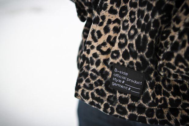 B-Side by Wale Custom Leopard Print Parka