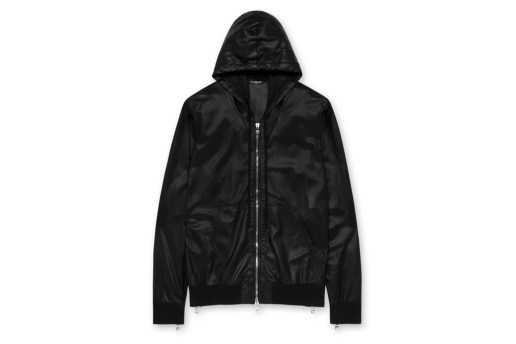 Balmain 2012 Spring/Summer Leather Parka