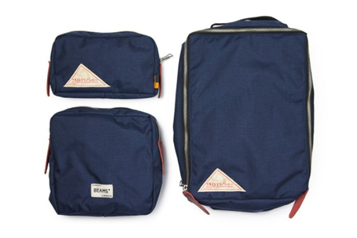 BEAMS PLUS x Kelty 3-Piece Bag Set