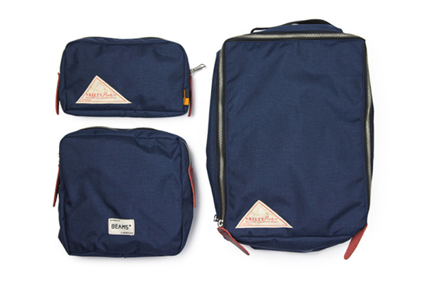 BEAMS PLUS x Kelty 3-Piece Bag Set