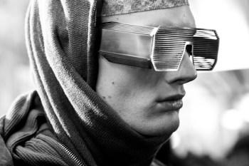 """Boris Bidjan Saberi x Linda Farrow 2012 Fall/Winter """"Goggles"""""""
