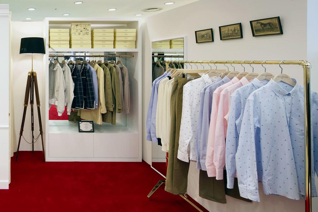 boutique maison kitsune galleria seoul opening