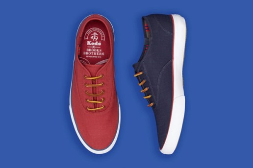 Keds for Brooks Brothers Ripstop Lace-Up