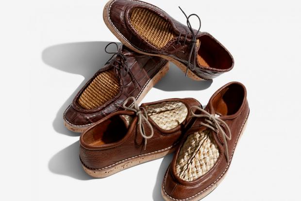 Burberry 2012 Spring/Summer Raffia Upper Desert Loafers