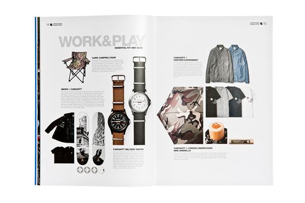 Carhartt WIP 2012 Spring/Summer Brand Book