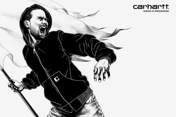 Carhartt WIP 2012 Spring/Summer Illustration by SHOHEI