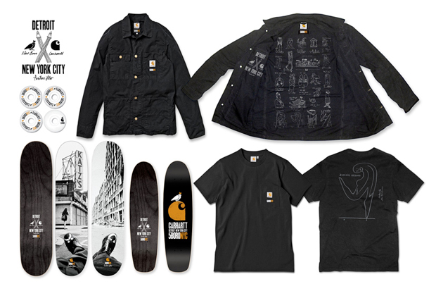 Carhartt WIP x 5boro NYC 2012 Capsule Collection