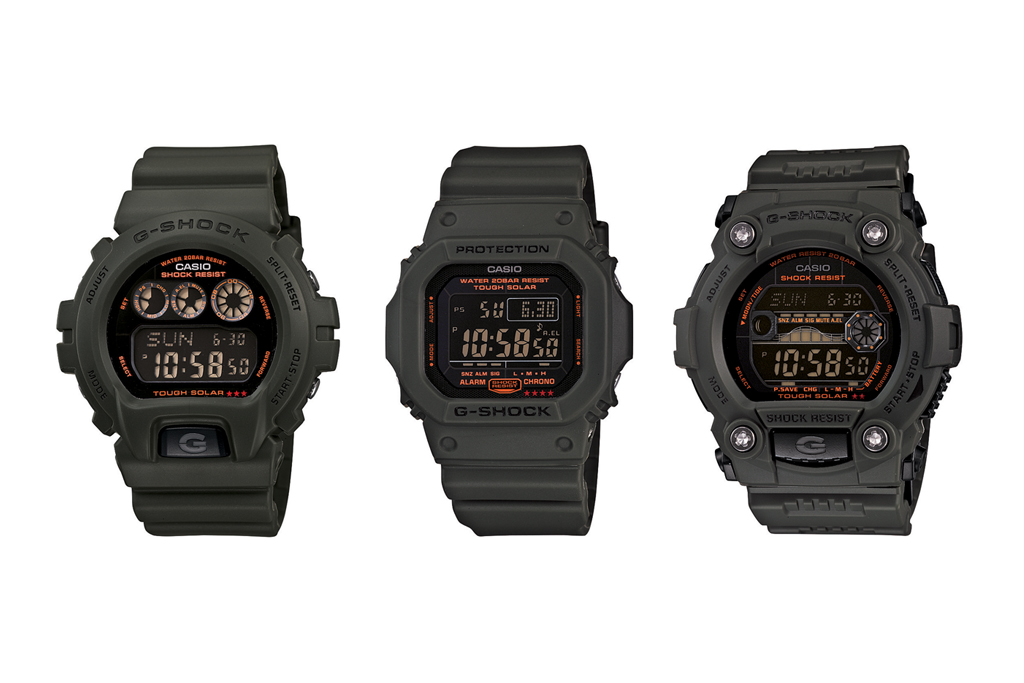 Casio G-Shock 2012 Solar Military Green Capsule Collection