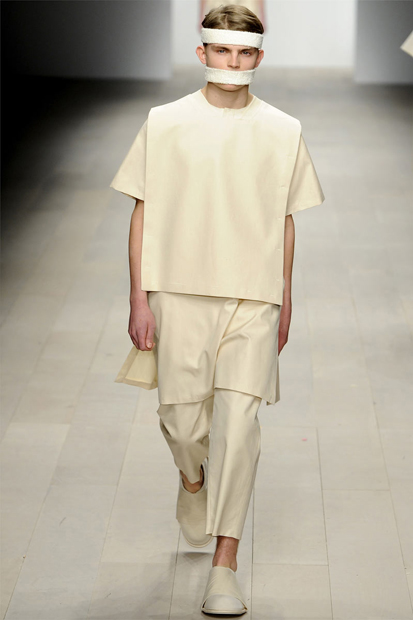 central saint martins m a 2012 fall winter collection by craig green