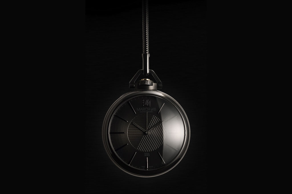 colette x march la b 1805 imperial phantom pocket watch