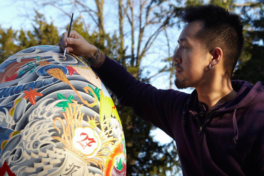 Daisuke Sakaguchi x The Big Egg Hunt 2012 Exhibition Preview