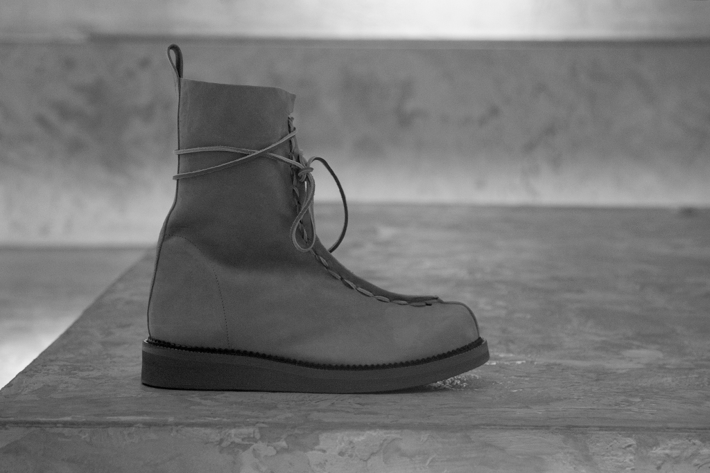 Damir Doma 2012 Spring/Summer Framo Front Lace Boots