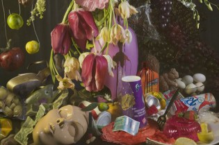 """David LaChapelle """"Earth Laughs in Flowers"""" Exhibition @ Robilant & Voena Gallery"""