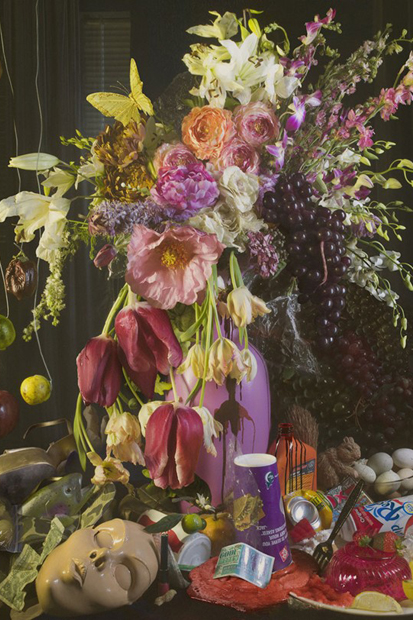 "David LaChapelle ""Earth Laughs in Flowers"" Exhibition @ Robilant & Voena Gallery"