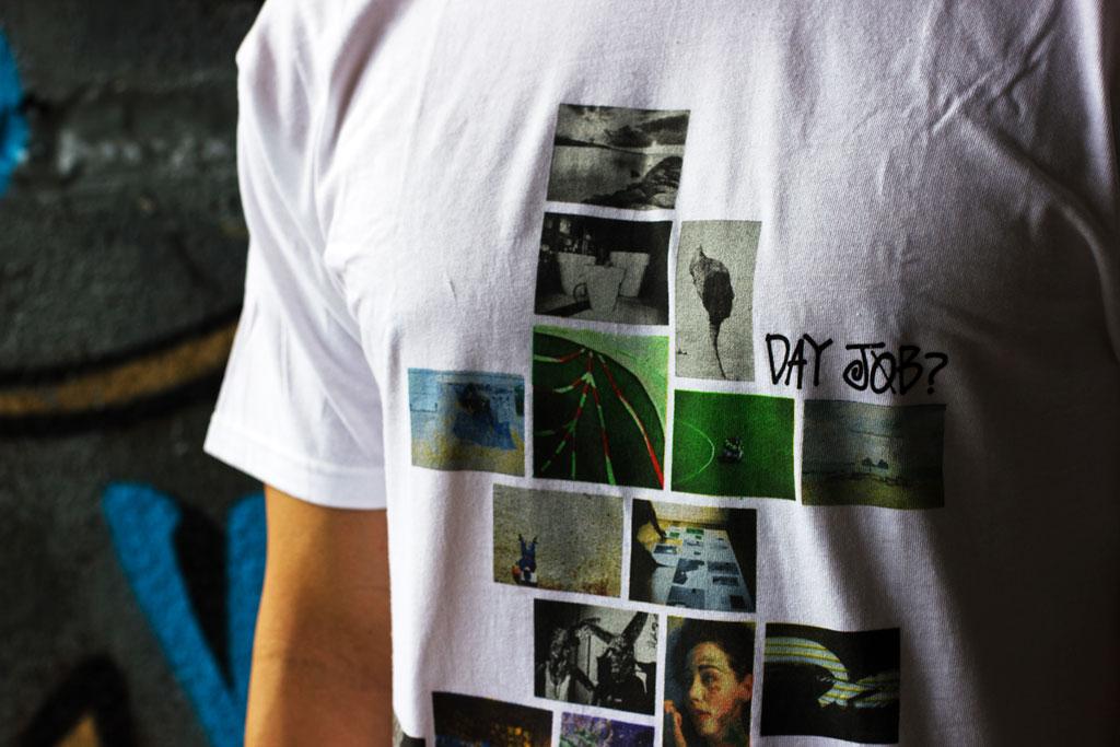 Day Job? x POW WOW Hawai'i 2012 x Stussy T-shirt