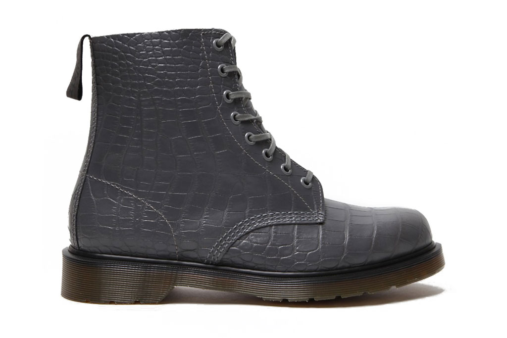 Dr. Martens 2012 Spring/Summer Croco Pascal 8 Eye Boot
