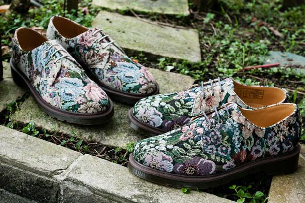 Dr. Martens 2012 Spring/Summer Needlepoint 3-Eye Shoe