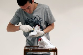 Edison Chen: How to Customize Your Own Nike CLOT Tennis Classic AC TZ (Museum) Shoes