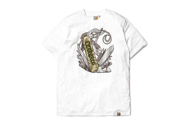 Eric Elms x Carhartt WIP 2012 Spring/Summer Swiss Army T-Shirt