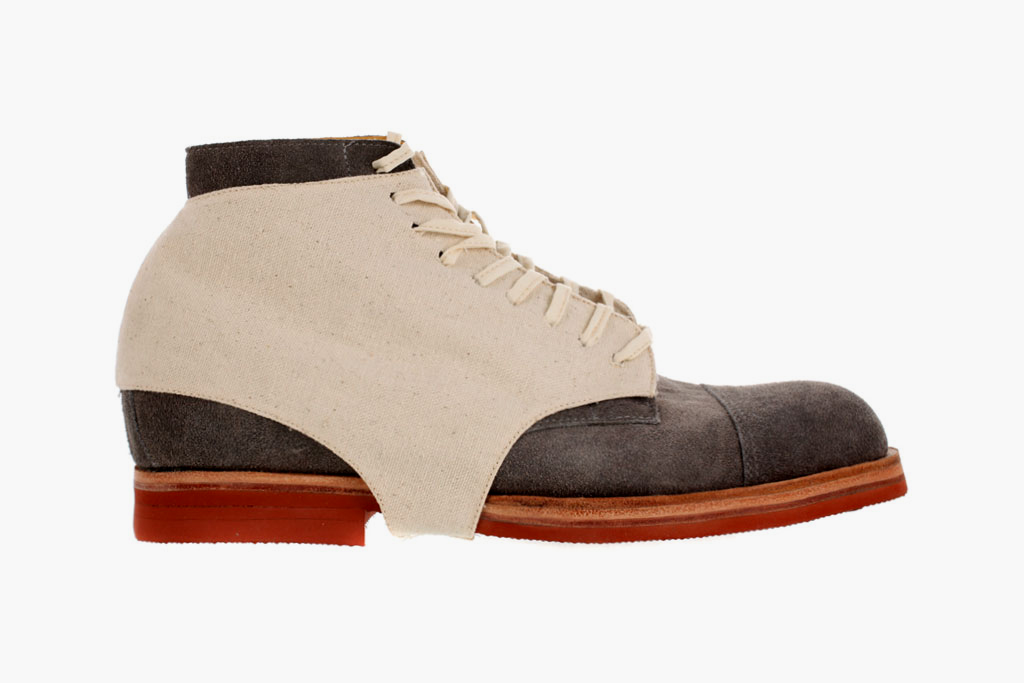 esquivel grey suede high shoes