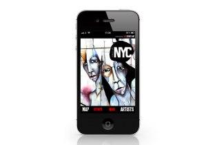 Geo Street Art x Street Art London & NYC iPhone App