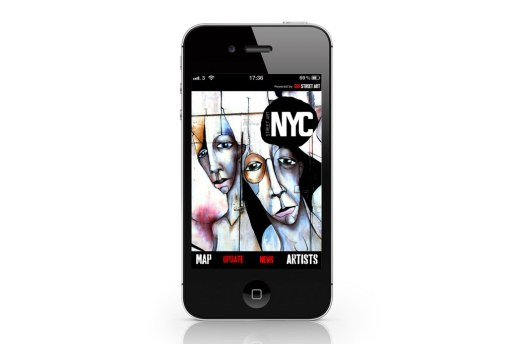 Geo Street Art x Street Art London & NYC iPhone App