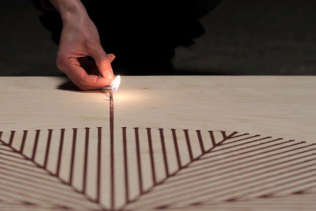 Glithero: Fire Drawing