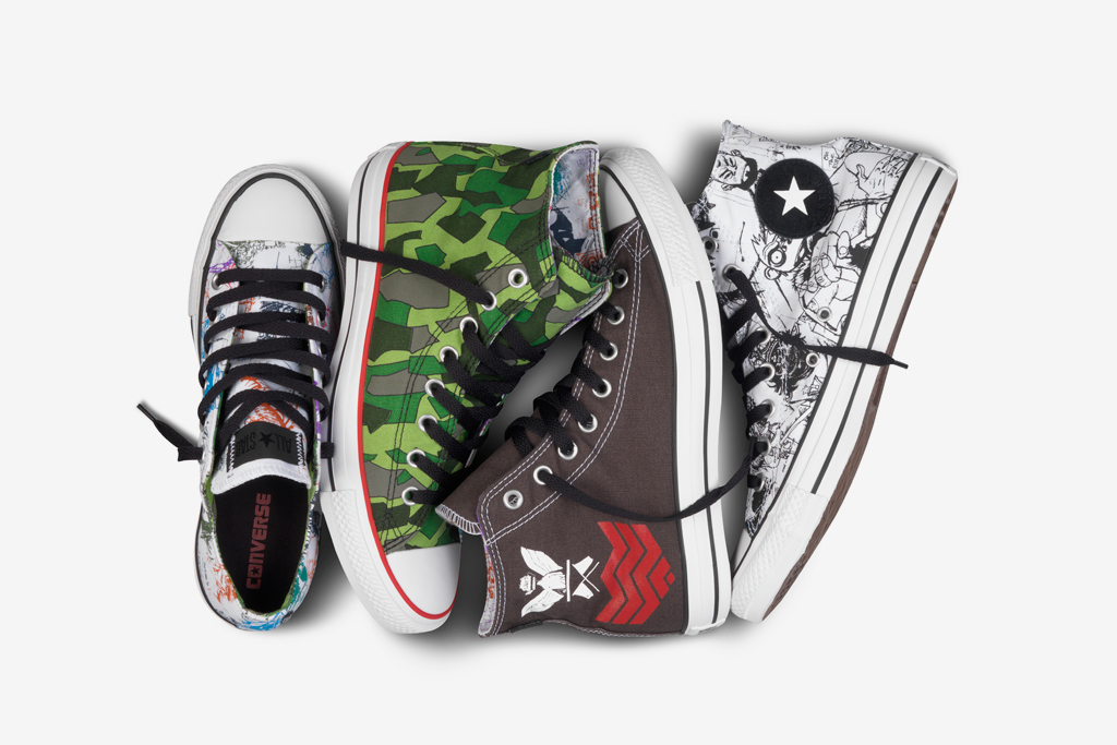 Gorillaz for Converse Chuck Taylor All Star Collection