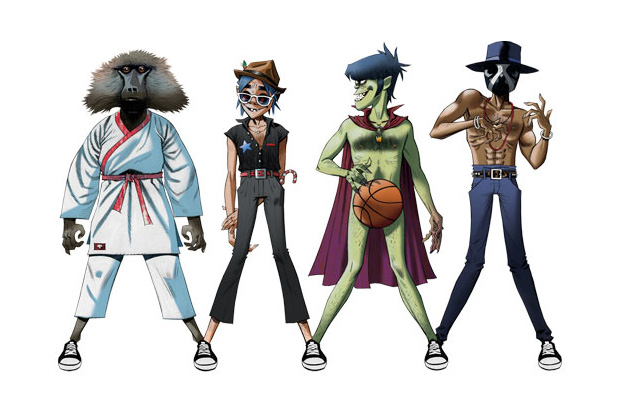 Gorillaz, James Murphy & André 3000 – DoYaThing