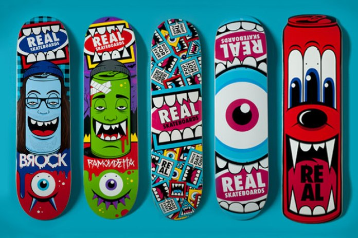 GREG MIKE x REAL Skateboards 2012 Spring Capsule Collection