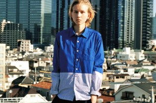 "GRIND: uniform experiment 2012 Spring/Summer ""BLUE & BLACK"" Editorial"