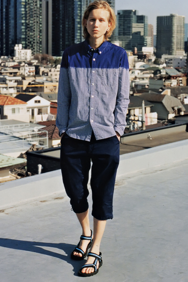 "GRIND: uniform experiment 2012 Spring/Summer ""BLUE & BLACK"" Editorial"