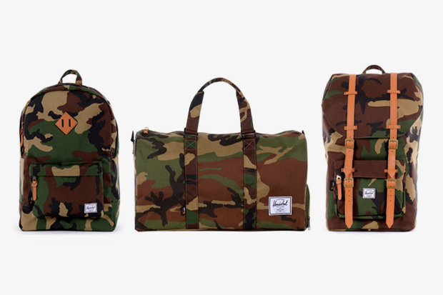 "Herschel Supply Co. 2012 Spring/Summer ""Woodland Camo"" Collection"