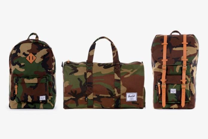 "Herschel Supply Co. 2012 Spring/Summer ""Woodland Camo"" Collection"