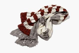 hobo x Tricote Knit Border Stole