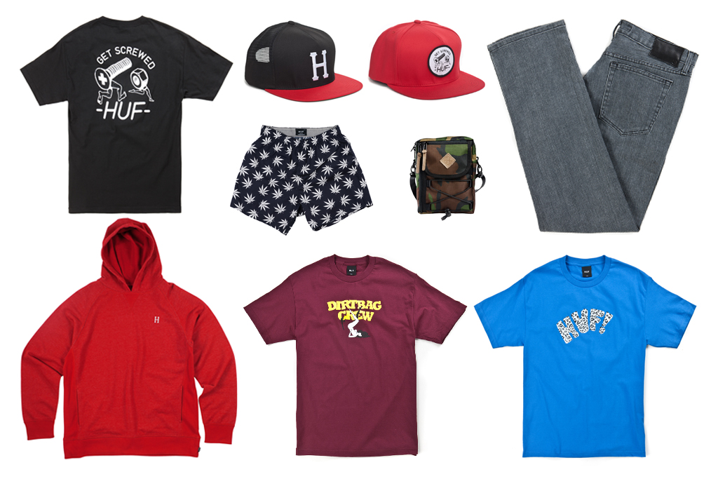 http://hypebeast.com/2012/2/huf-2012-spring-collection-part-1