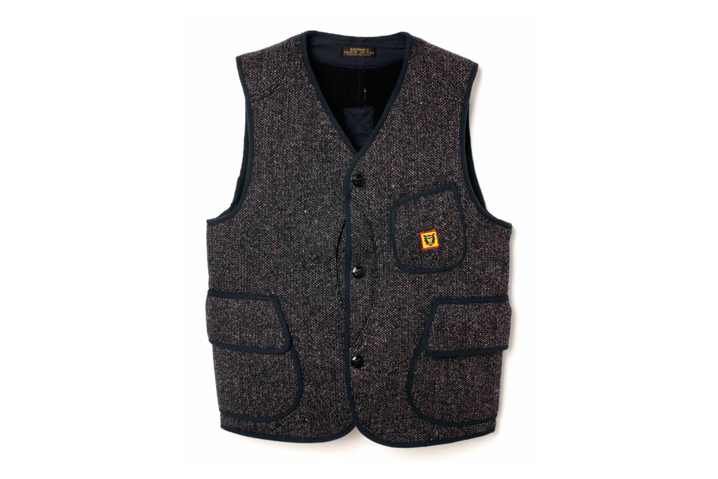 human made x browns beach jacket 2012 spring summer vest