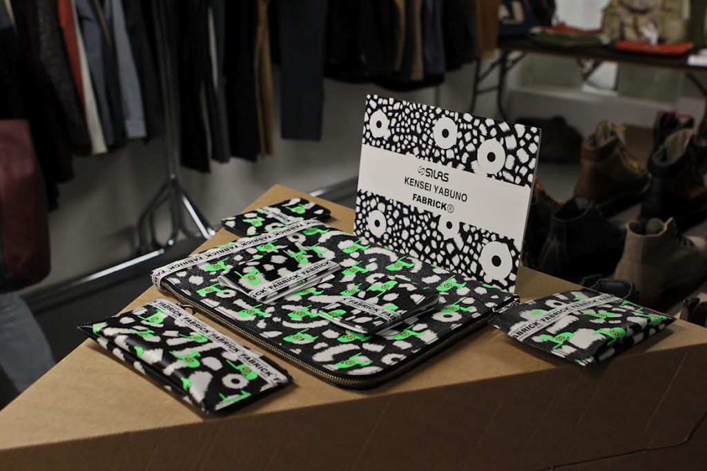 """Jacket Required: Kensei Yabuno x Silas 2012 """"FABRICK"""" Collection Preview"""