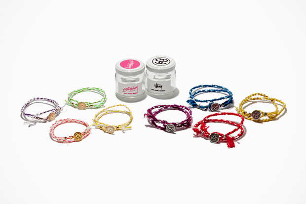 "Stussy × JAM HOME MADE ""Rope Bracelet"""