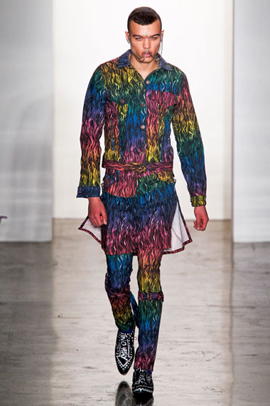 Jeremy Scott 2012 Fall/Winter Collection